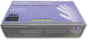 Gloves Precision PF Elastic Nitrile Powder-Free (box of 100)