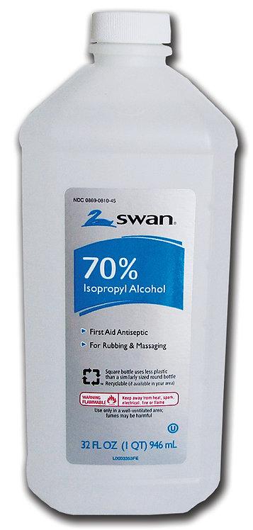 Alcohol, One Quart Bottle