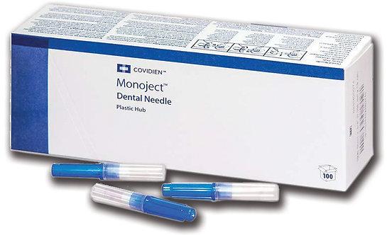 Monoject Dental Needle - Plastic Hub 100/bx