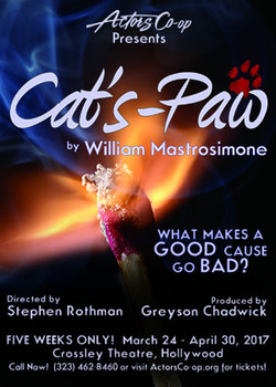 Cat's Paw Poster