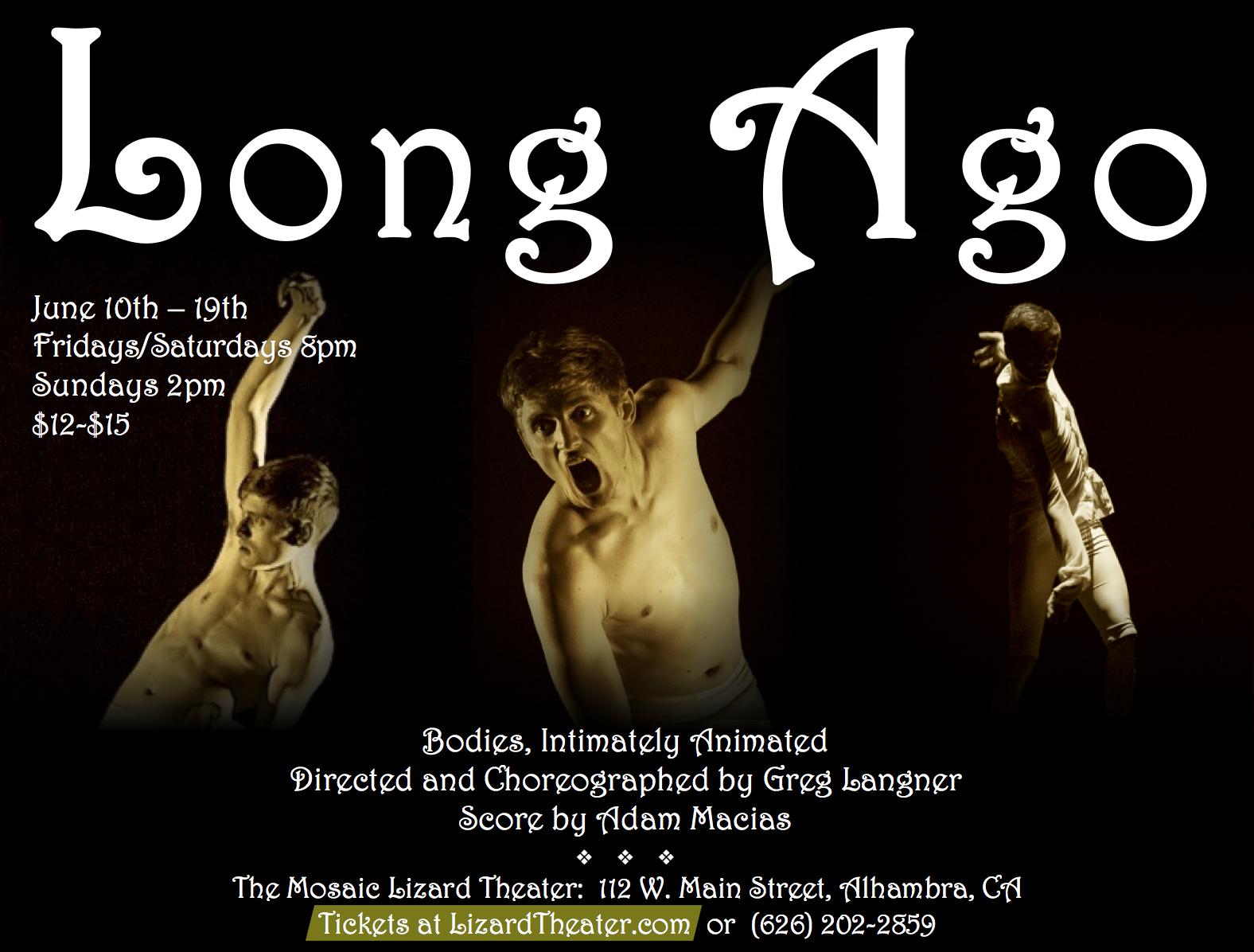 Long Ago Poster