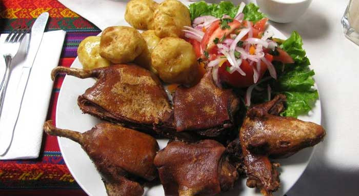 CUY CHACTADO: NUTRITIVO Y DELICIOSO PLATO