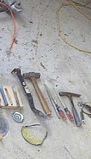 dusted & dirty tools