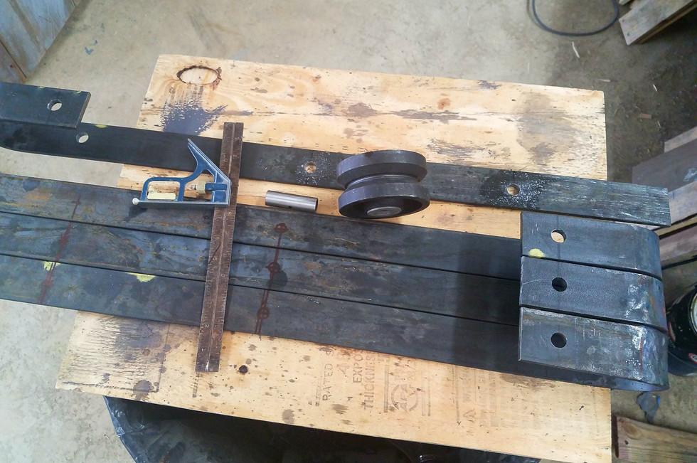 door hanger straps