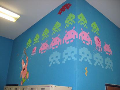Patrick & Space Invaders.JPG