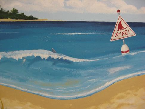 Teen Beach - shark & xing