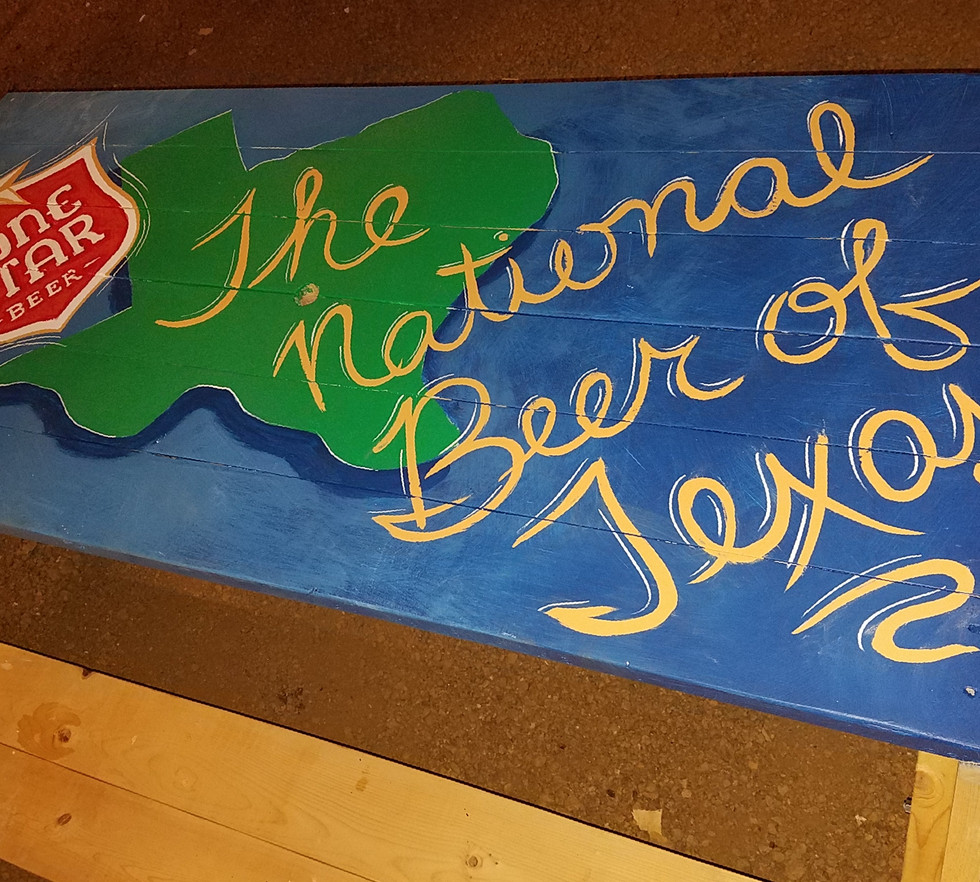 National Beer of TEXAS!!
