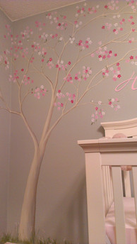 Floor to ceiling tree...