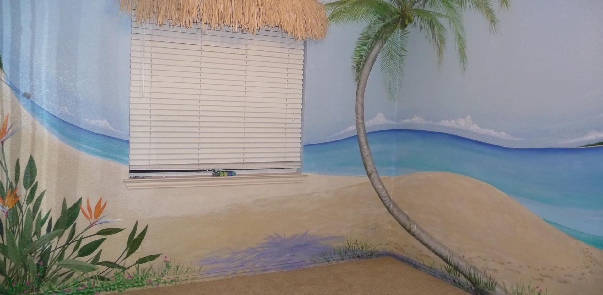 Palm corner
