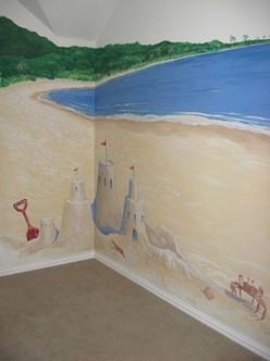 Playroom corner