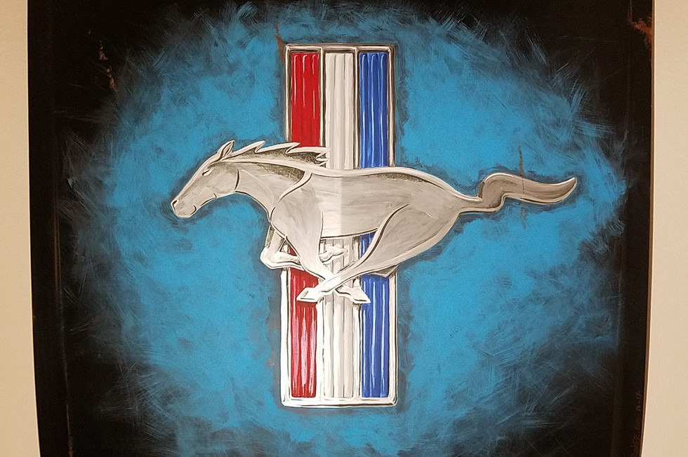 Something different for the Mustang fans...