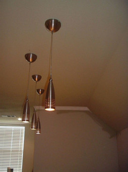 4 steel bar lights