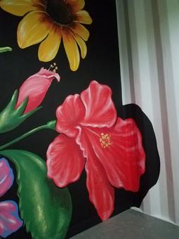 Flowers blooming everywhere.