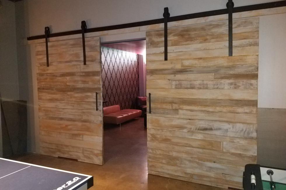 8ft x 10ft Barn Style Doors
