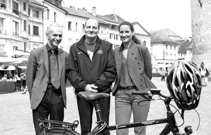 Mme Ehrensperger, M.Martin & M. Wielly