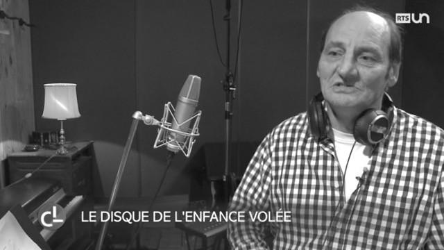 Clément Wielly en Studio d'enregistremen