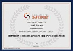 SafeSport Cert 4