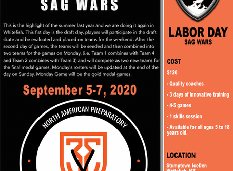 LAST CHANCE TO REGISTER FOR SAG WARS THIS WEEKEND.