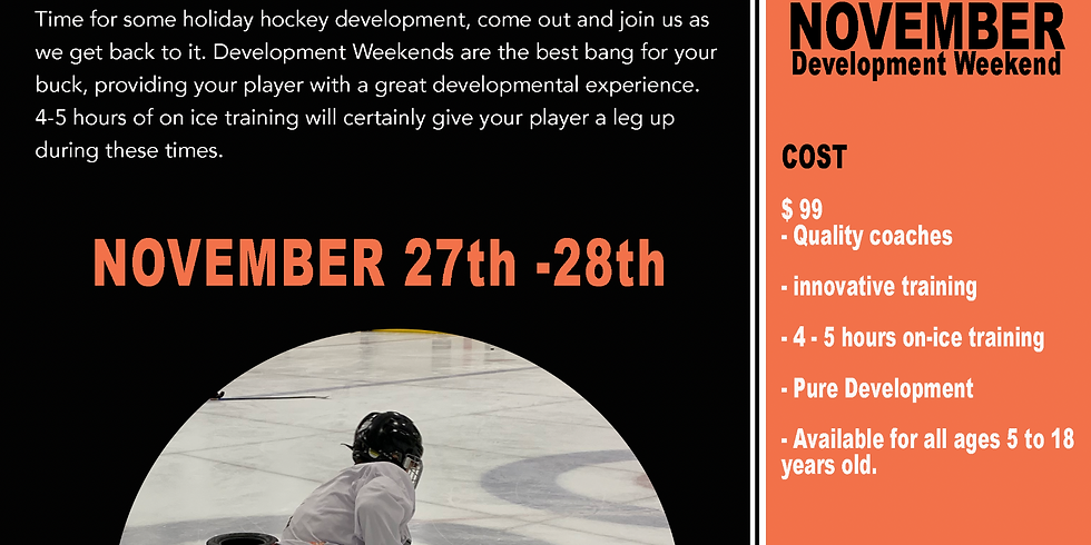 November Development Weekend
