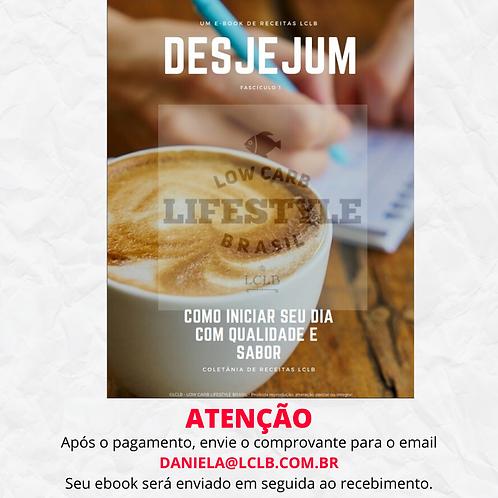 FASCÍCULO 01: CAFÉ DA MANHÃ