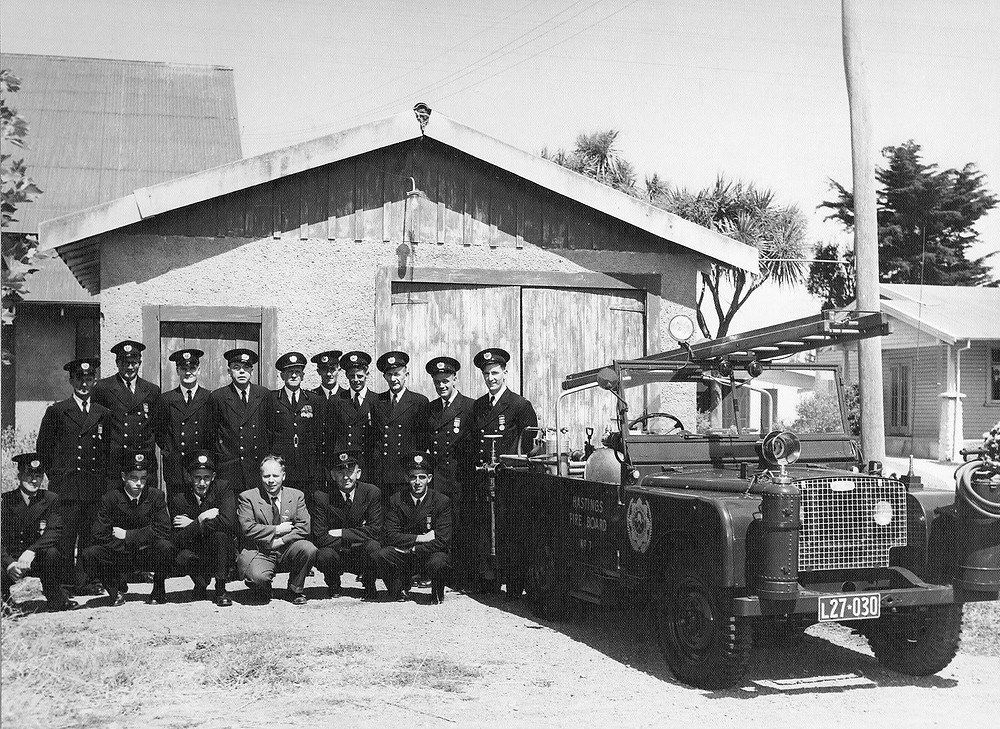 Haumoana Fire Brigade 1940