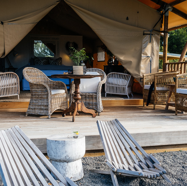 Safari tent - Kowhai Retreat
