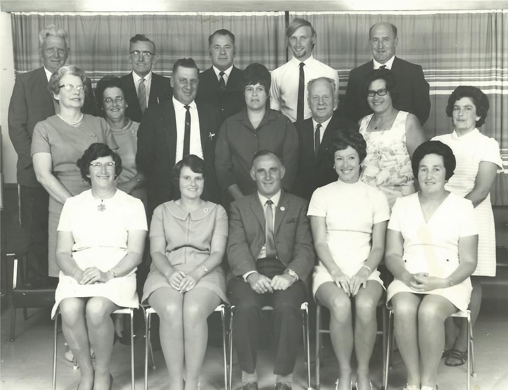 Haumoana School Jubilee Committee Photo, 1960
