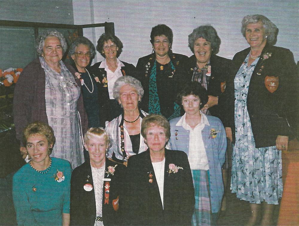 1990 Reunion for the Life Members of the Haumoana, Cape Coast, Hawke's Bay, Basketball Team