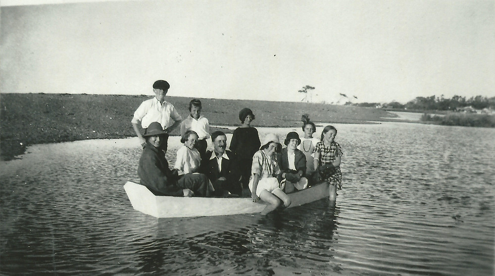 Boating on Te Awanga Lagoon