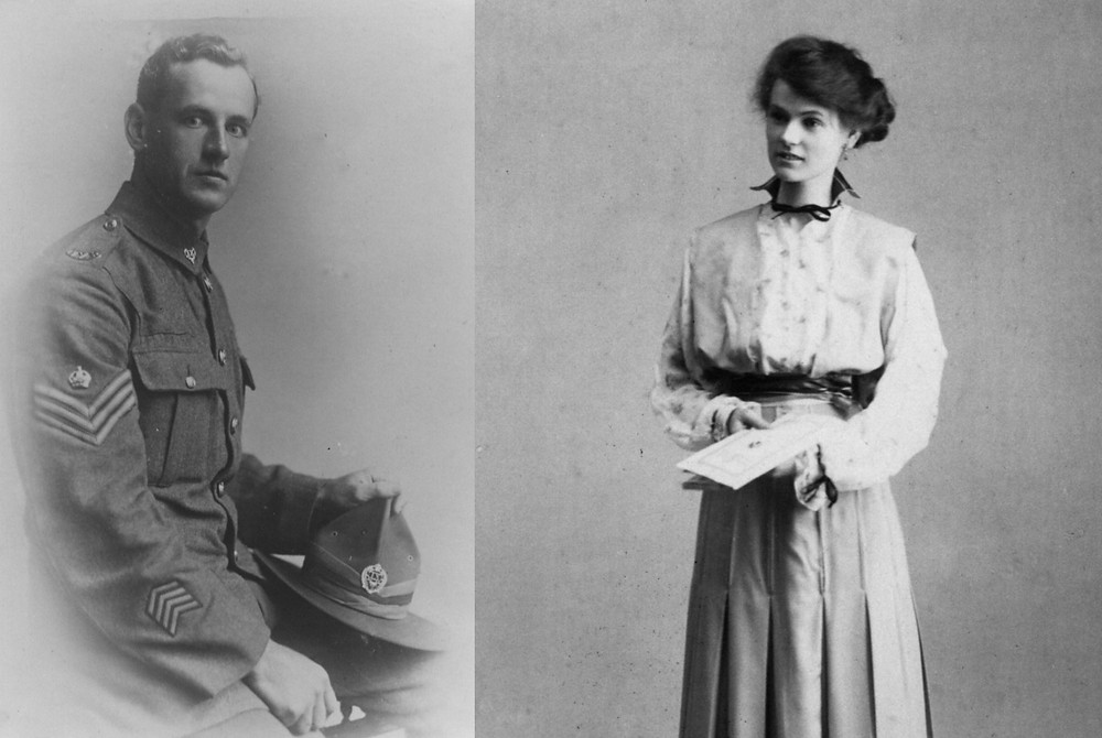 Albert and Daisy Bradshaw, who started the store at Whakatu after WW1 moved to Haumoana for Daisy's health
