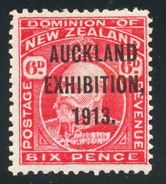 A picture of a 1913 Six Pence Postage Stamp