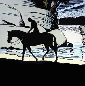 Dick Frizzel - Long Ride Home - Screenprint