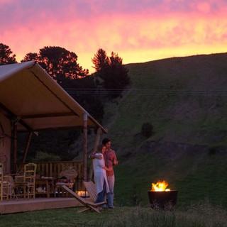 Sunset - Kowhai Retreat