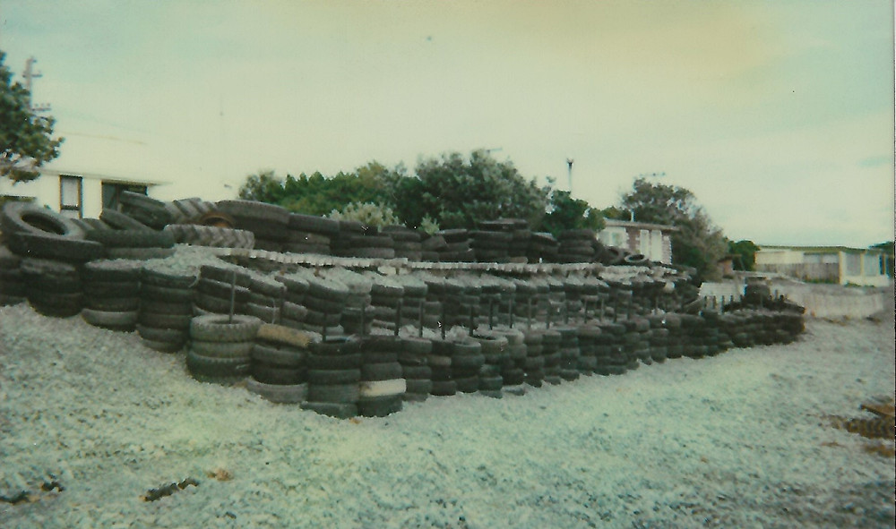 Coastal defence installed in front of a Haumoana property