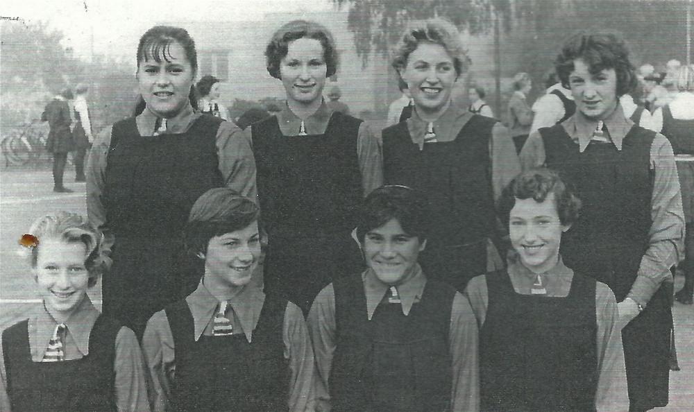 The Haumoana, Cape Coast, Hawke's Bay Basketball Team in 1960