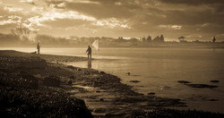 Whitebait Fishing at Tukituki Estuary