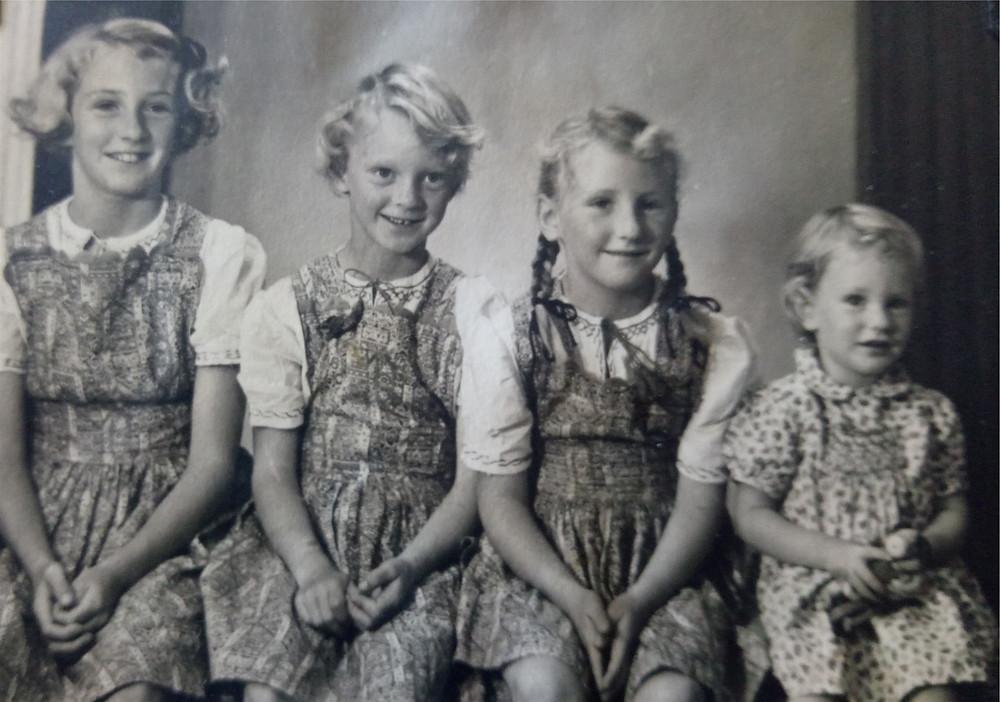 The Glenny Girls - Ina, Ann, Lorna & Sarah
