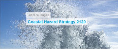 Clifton to Tangoio Coastal Hazard Strategy 2120 Cover Image
