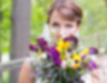 Picture of blog author, Kate LeBeau, on her wedding day