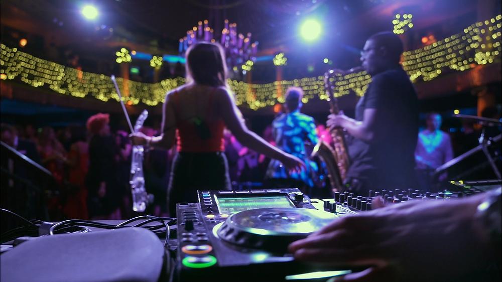 Live DJ AND BAND  wedding entertainment