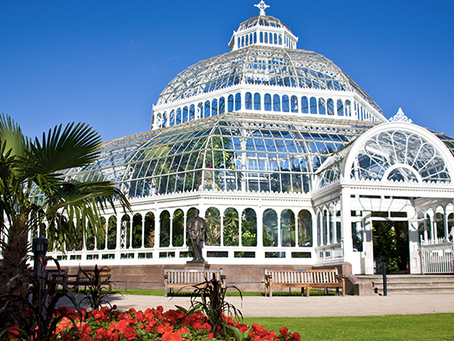 A Palm House Wedding