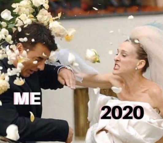 2020 wedding meme