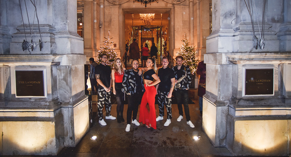 The langham hotel london entertainment