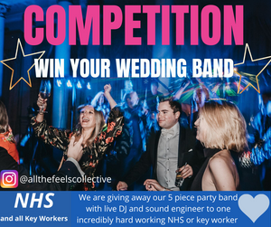 NHS Keyworker giveaway wedding competition win your wedding
