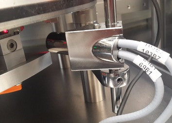 Maquinado y calibracion de sensor Fibra