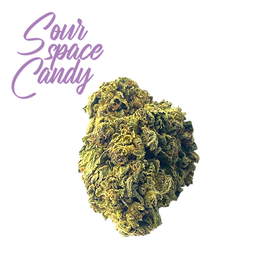 Sour Space Candy CBD Flower (Greenhouse Grown)