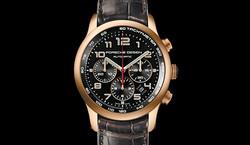 Porsche Design 6612 Gold leather bracelet Dominic Vonbern Swiss artist