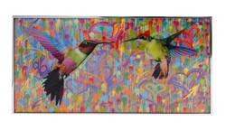 Dominic VonbernTwo small picky birds