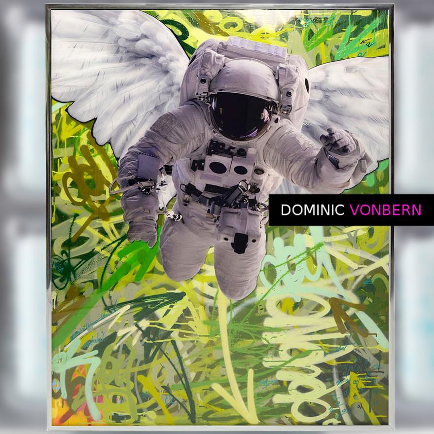 Dominic Vonbern-Swiss Artist-Astronaut Suit-Street Art-Urban Art- Fly by 11