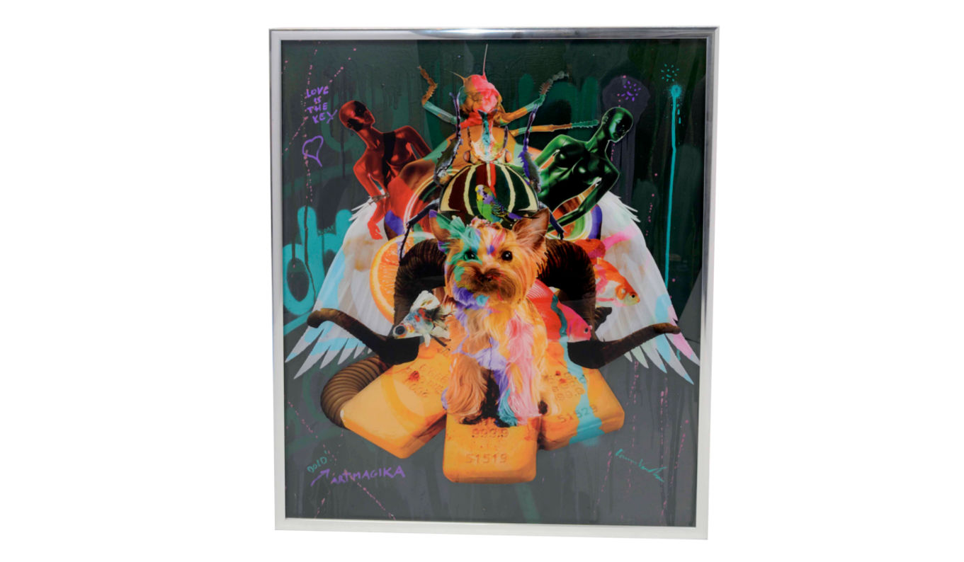 Dominic Vonbern Artwork JoyFull mess dog